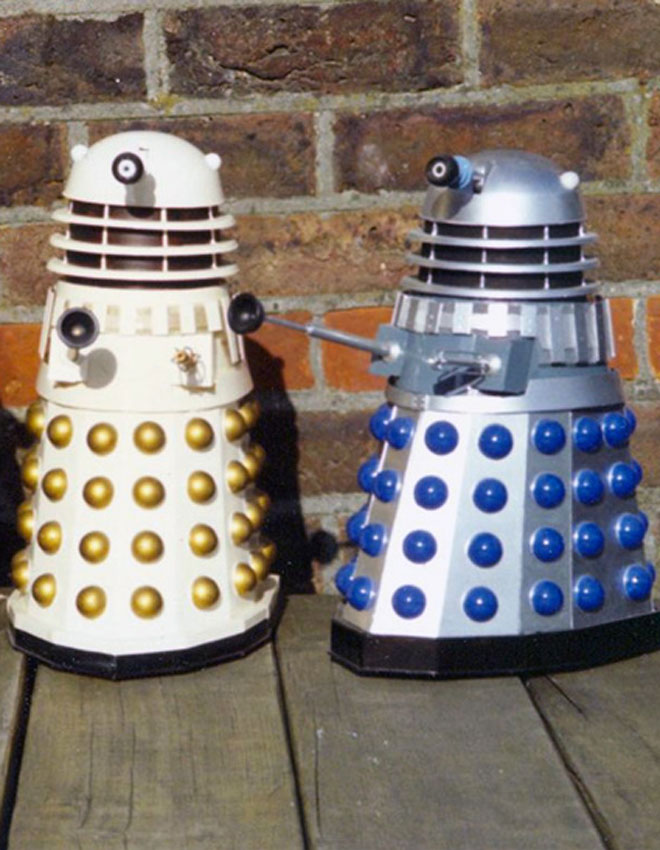 Chris Kingbees' Sevans Dalek Kit