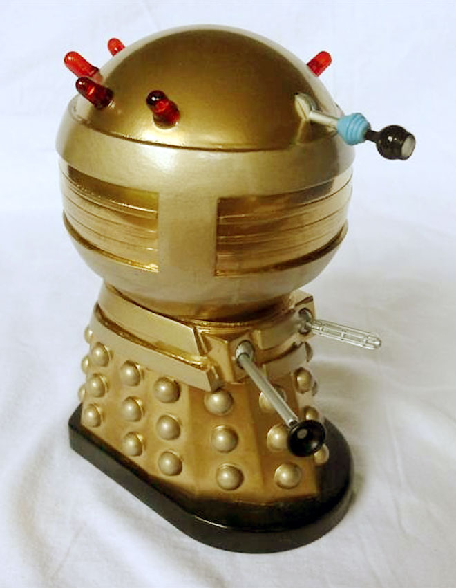 Don's golden Emperor Dalek.
