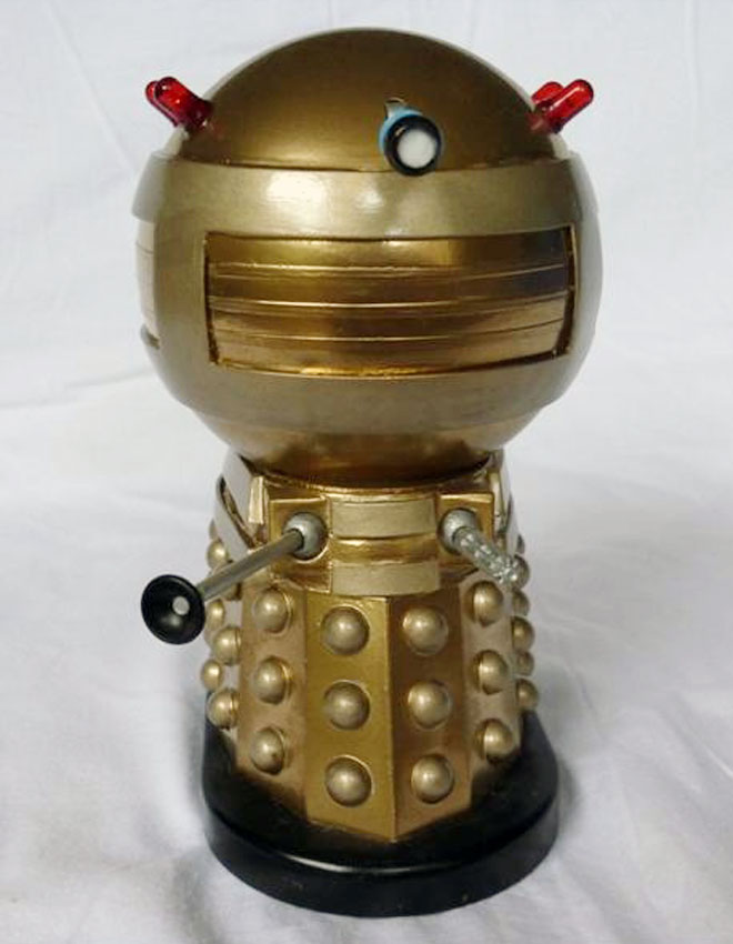 Don Lovelock, emperor Dalek, front.