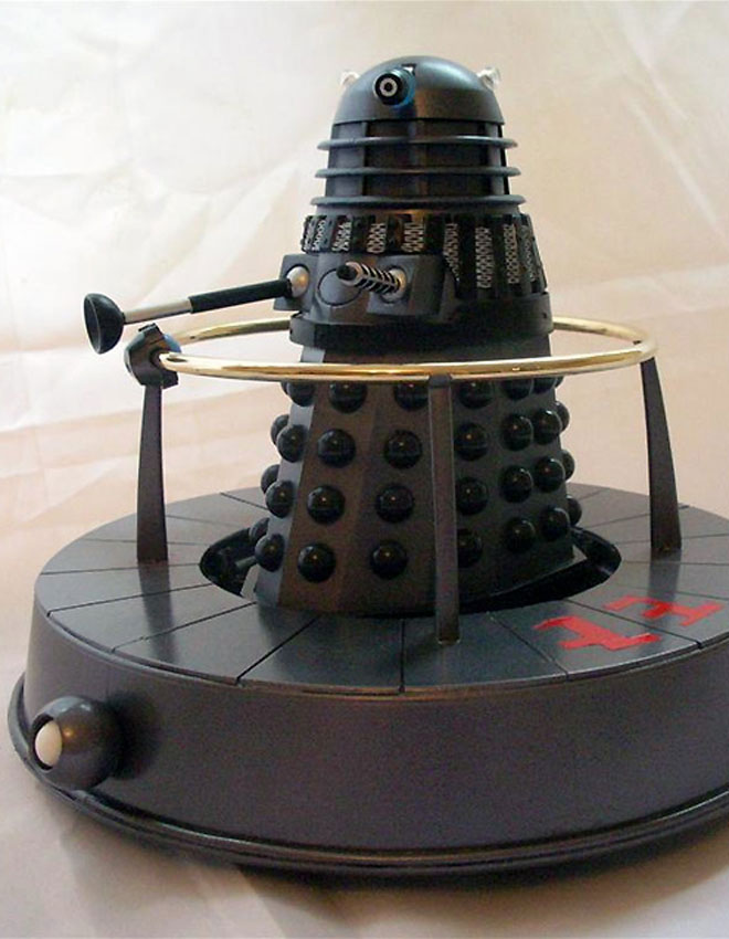 Don Lovelock's Dalek Hovabout aka Transolar Disk