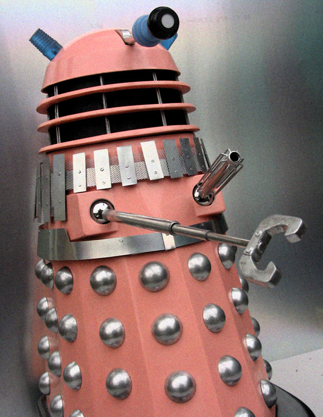 John's Pink Movie Dalek.