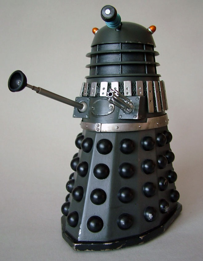 Mechmaster grey and black Dalek.