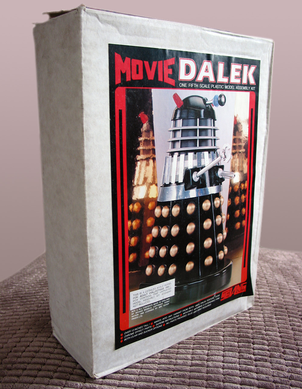 Rare Sevans Movie Dalek kit (un-built).