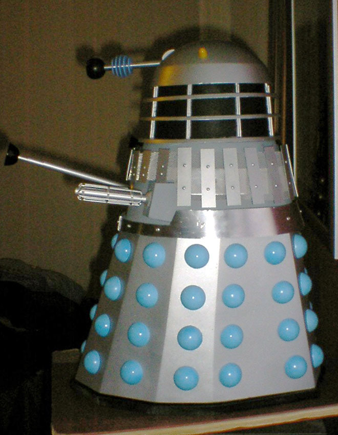 Sevans movie Dalek conversion.
