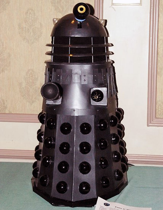 Stan's scale Dalek model
