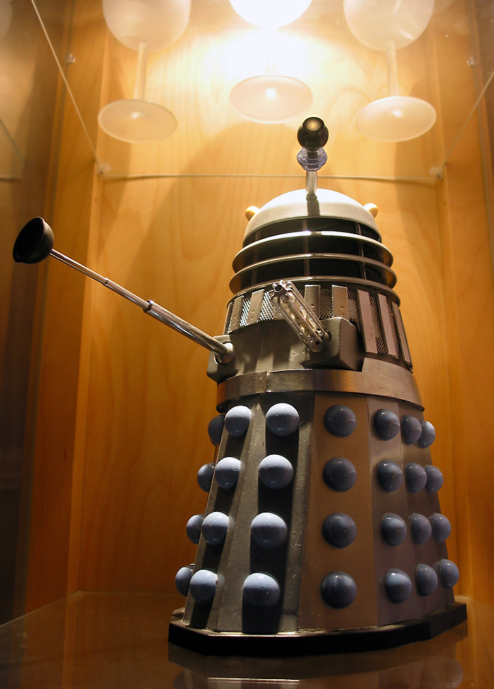 Photograph after the style of the Dalek movies