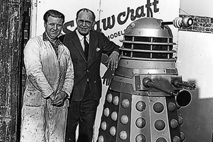 Bill Roberts with Dalek