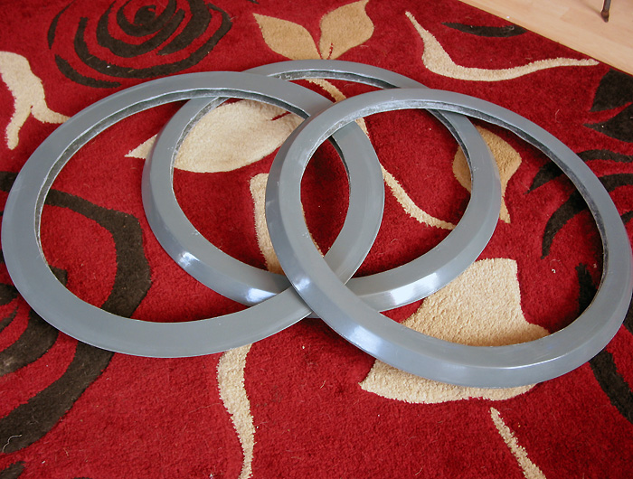 Fibreglass neck rings