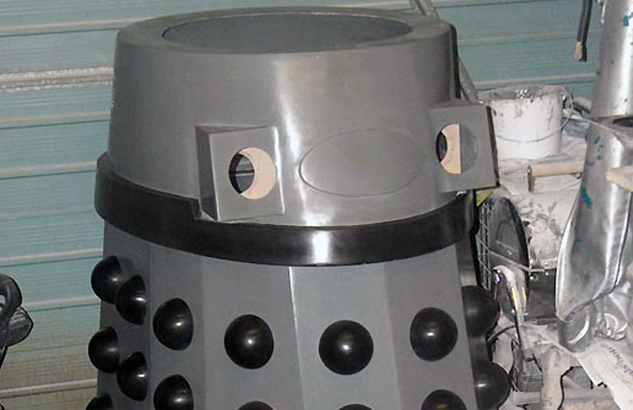 Renegade Dalek shoulder section.