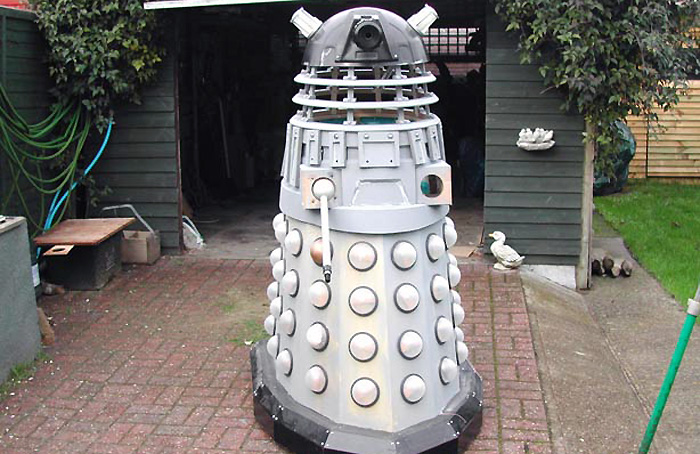 Semi-completed Dalek