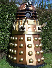 Mike Bull's Rosco P Dalek enjoying the great outdoors