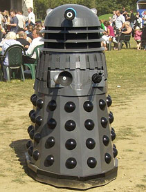 Genie the Dalek finished and ready for work!